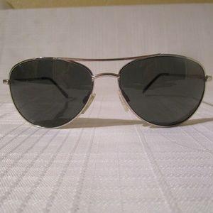 Suncloud Patrol Sunglasses-Silver frame, gray lens